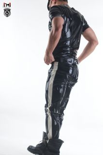 Squeeze Dog Latex Gummi Rubber Casual Active Sporty Pants