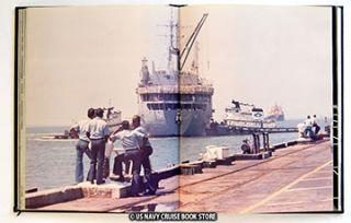 USS Yellowstone Ad 41 Mediterranean Cruise Book 1987