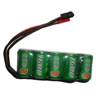 ACE 6V/1600mA Ni MH Flat Pack Rechargeable Battery (RC WillPower) for