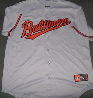 Baltimore Orioles Adam Jones Grey Style Jersey By Majestic XL