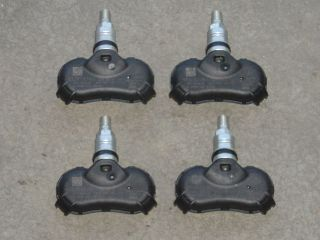 09 12 Acura TL ZDX Tire Pressure Sensors TPMS Wheels Rims Set of Four