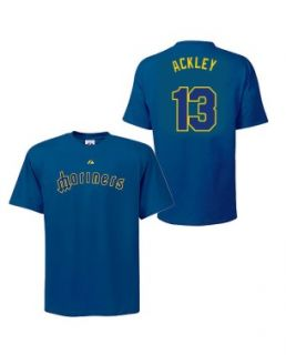 dustin ackley seattle mariners player shirt by majestic sku ackley