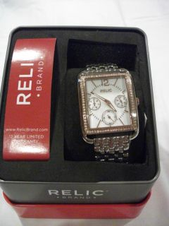 NEW Relic by Fossil Addison Stainless Steel Rose Gold Tone
