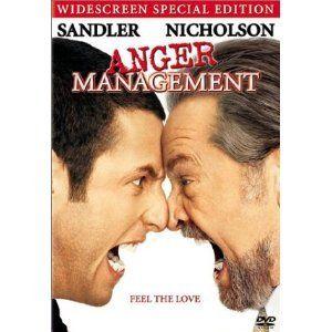 DVD Anger Management Adam Sandler Jack Nicholson Peter Segal