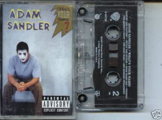 Adam Sandler Whats Your Name USA Cassette Tape Whats