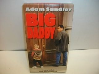 Big Daddy VHS Adam Sandler Funny Kids Comedy Movie