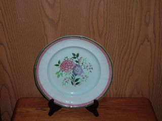 Adams Fine China 1 Dinner Plate Pattern Mandalay Green