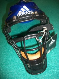 ADIDAS BASEBALL CATCHERS MASK PROTECTIVE HEAD FACE WEAR NO CHIN PAD