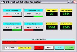 Allen Bradley Ethernet ActiveX PLC Driver Create your own Run Time
