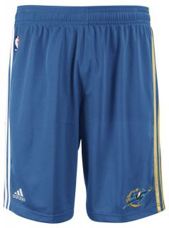 NBA Washington Wizards Adidas On Court Pre Game Shorts  Blue