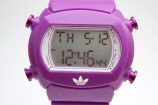 New Adidas Women Candy Purple Digital Chronograph Watch ADH6112 40mm x