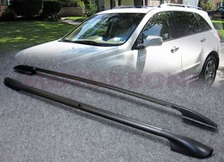 07 09 Acura MDX Roof Rack Side Rail Texture Black Direct Replacement