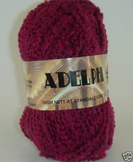 Cherry Tree Hill Yarn Adelphi Mill Ends Rasberry