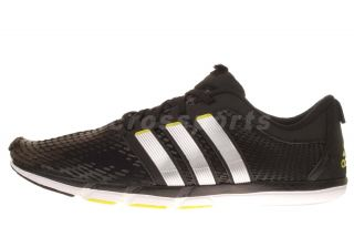 Adidas adiPure Gazelle M Black Silver Mens Running Shoes G60372