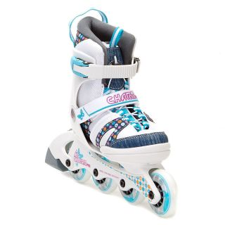 K2 Charm Pro Adjustable Girls Inline Skates 2013