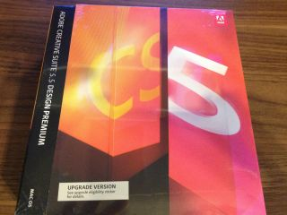 Adobe Creative Suite 5 5 Design Premium Upgrade for Mac from CS5 X