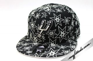 Adidas San Antonio Spurs NBA Fitted Cap New