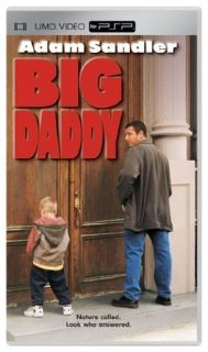 Big Daddy 2005 Adam Sandler Video Full Length Movie UMD Sony PSP Brand