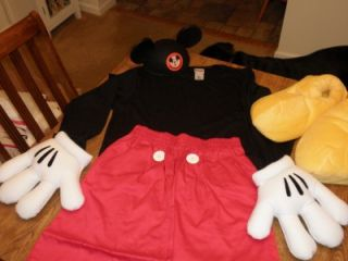 Mickey Mouse Costume Adult Small s Disney World