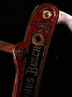 Antique Adolphus Busch Shrade & Kastor Bros. Pocket Knife (2)