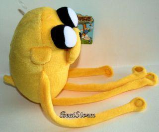 10 Adventure Time Finn and Jake Dog Velcro Wrap Around Arms Plush Toy