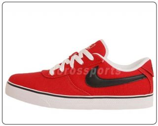 Low 2 Canvas Red Black Mens Skate Boarding Shoes 442475 600