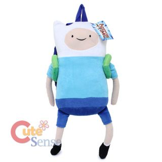Adventure Time Finn and Jake Finn Plush Doll Backpack 20 Costumes Bag