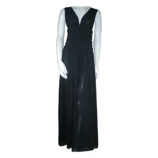 Agnes B full length evening dress UK 12 hardly used excellent