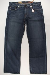 Mens AG Adriano Goldschmied Hero Relaxed Fit Jeans Blue Denim 38