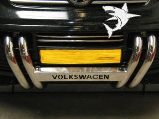 VW Volkswagen T5 Finished Chrome Grill Bull Bar Harley