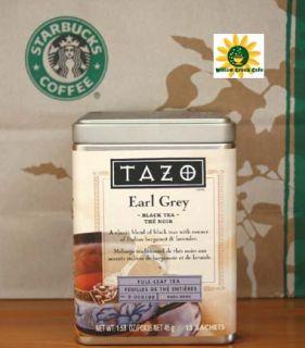 Tazo Tea Earl Grey Tea Black Full Leaf Teas