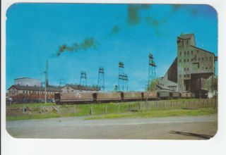 Ahmeek Mine Copper Country Mining 1951 Old Postcard Keweenaw County