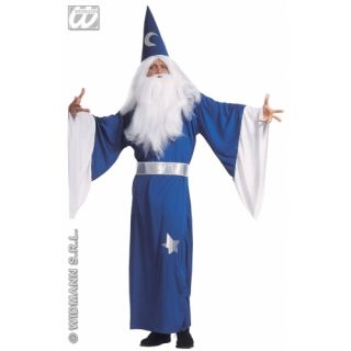 Adults Mens Wizard Sorcerer Magician Costume Large New