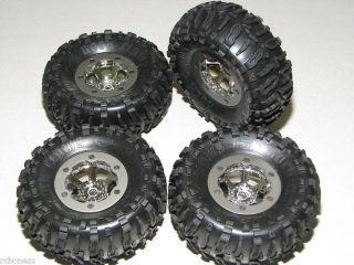 Losi 1 10 Comp Crawler New Tires with Beadlock Wheels