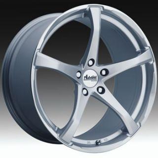 19x8 5 Silver Wheel Advanti Racing Denaro 5x120