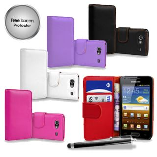 Leather Case Cover For Samsung I9070 Galaxy S Advance + Film & Stylus
