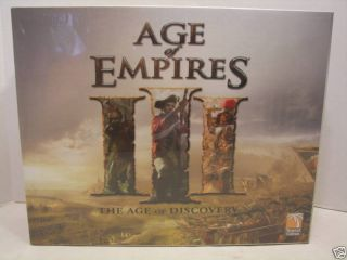 Age of Empires War Board Game New SEALED Mint