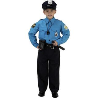 New Boys Aeromax Jr Police Officer Halloween Dress Up Costume 7 Sizes