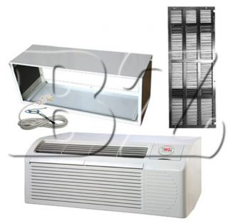 TERMINAL AIR CONDITIONER 15000 BTU, 5KW HEATER,CORD,SLEEVE,GRILLE