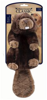 American Classic Plush Beaver Dog Toy AKC Jakks Pets