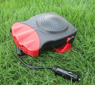Portable auto car air conditioning fan ceramic heat heater machine 12V