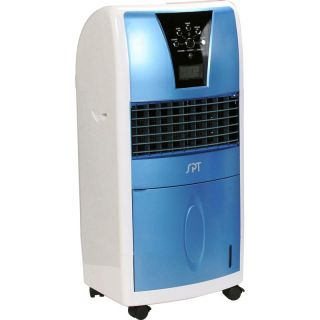 Evaporative Air Cooler Swamp Humidifier Fan Purifier w Ionizer Remote