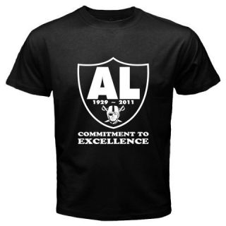 Al Davis Oakland RAIDERS Commitment To Excellence NFL T shirt RIP AL