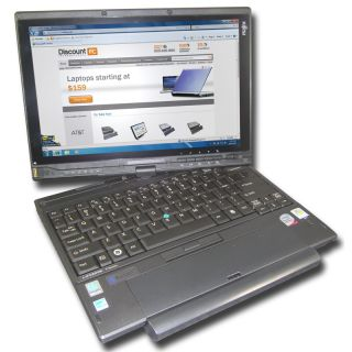 Fujitsu LifeBook T2020 Tablet   Intel Core 2 Duo U9400 1.4 GHz   2 GB