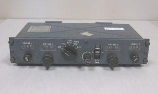 Douglas DC 9 MD80 Aircraft Flight Director Navigation Control Panel