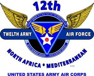 12th Army Air Force United States Army Air Corps North Africa