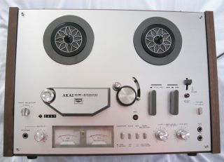 Vintage Akai GX 4000D Reel to Reel Tape Recorder