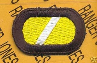 VII Corps LRRP Airborne Ranger Para Oval Patch Type 2