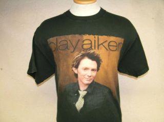 Clay Aiken Concert T Shirt 2004 Tour M
