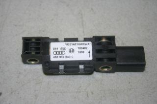 02 2002 Audi A6 C5 4 2 Airbag Air Bag Impact Sensor